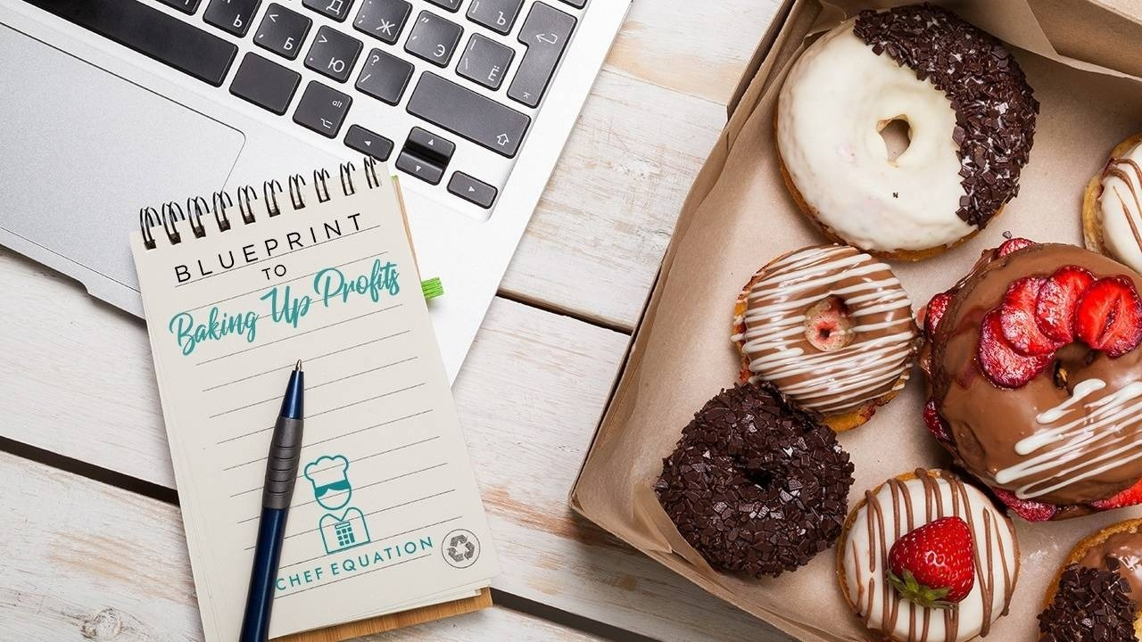 Utzzoogwrpeftfd02ray baking up profits logo and donuts