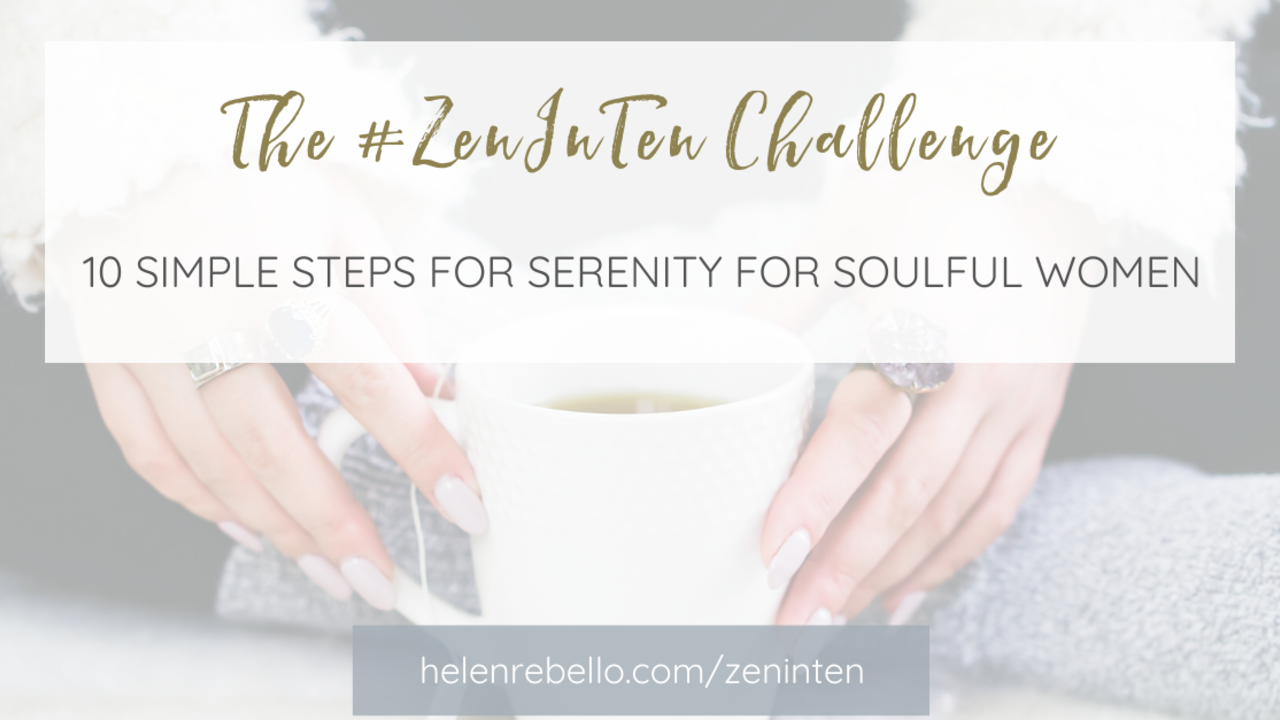 Jfnoesbtrg2x07uqutuk the zeninten challenge   10 simple steps to serenity for soulful women 2