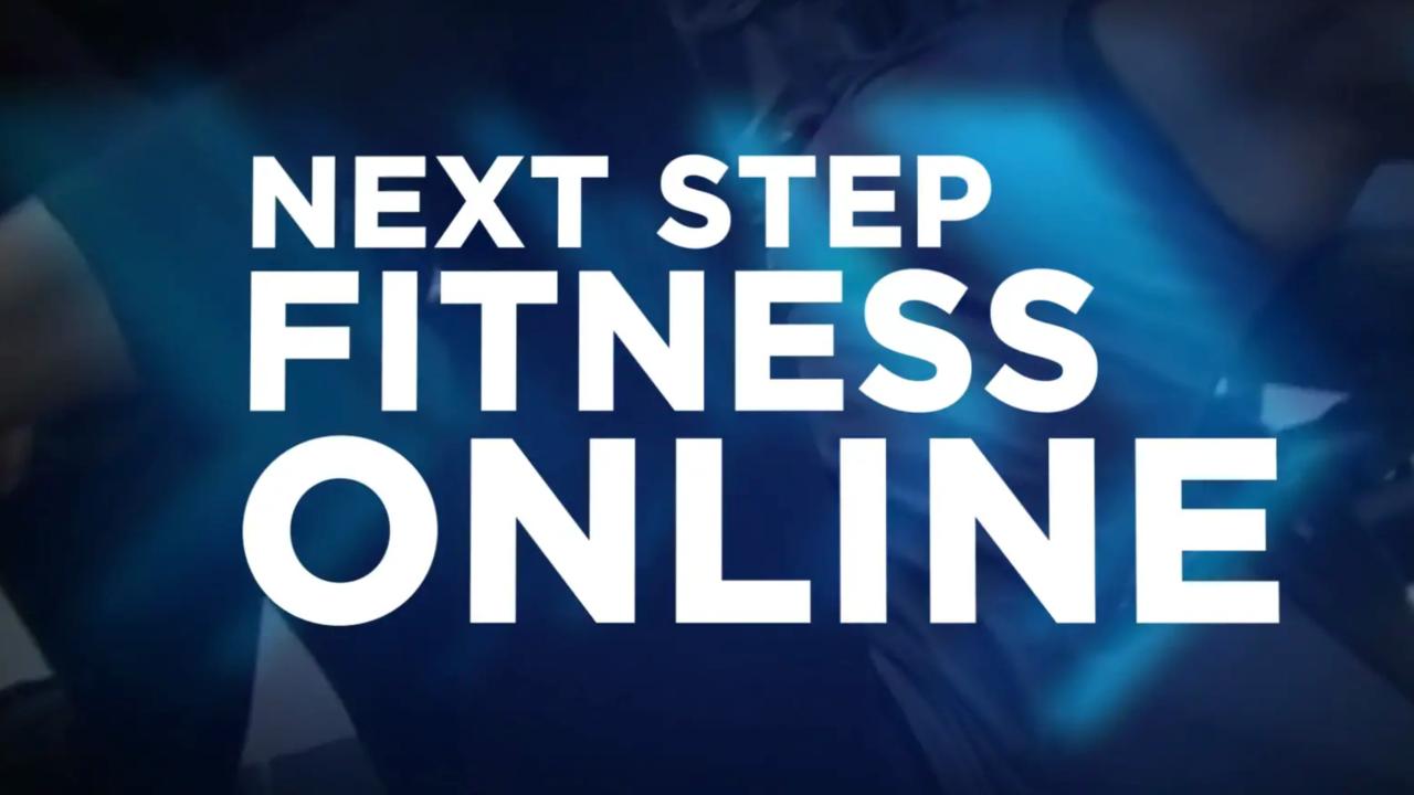 8iux0ukqayb1pcxzfm3m next step fitness online training sizzle reel