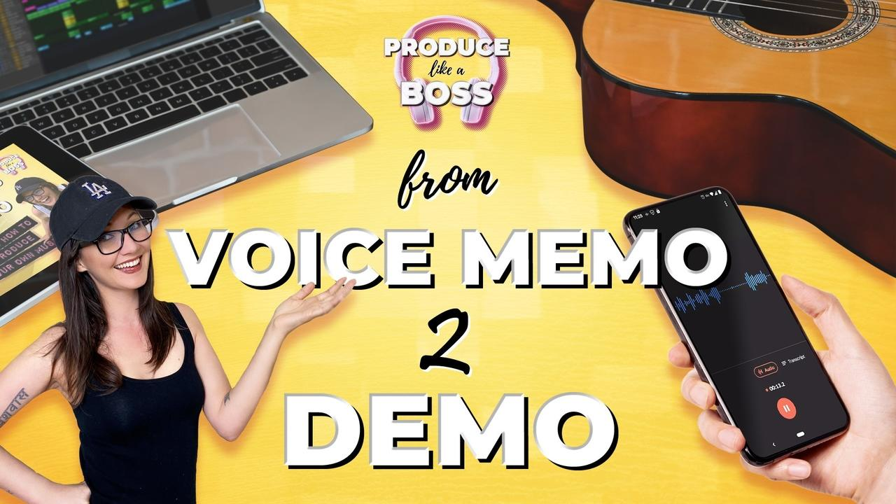 Byy4fjjriggdu8xjqqrd plab video graphics from voice memo to demo2