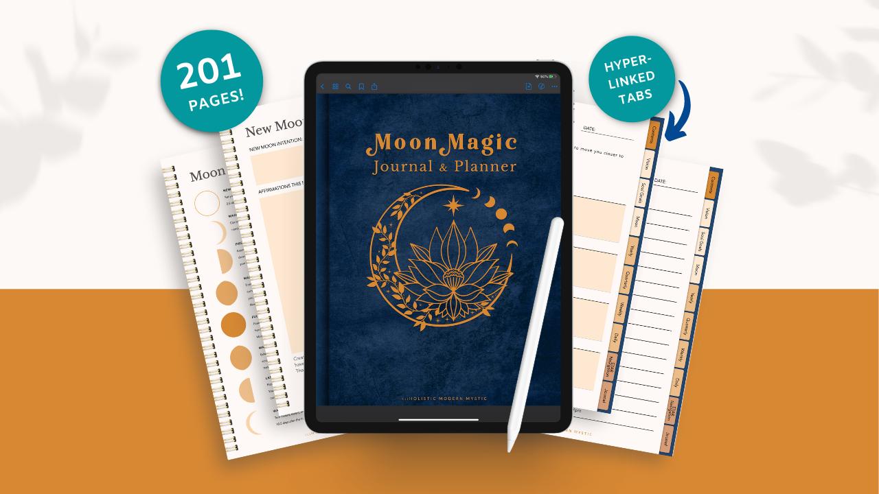 Mrvpnt5zt7iaf8fojglk moon magic journal planner 2