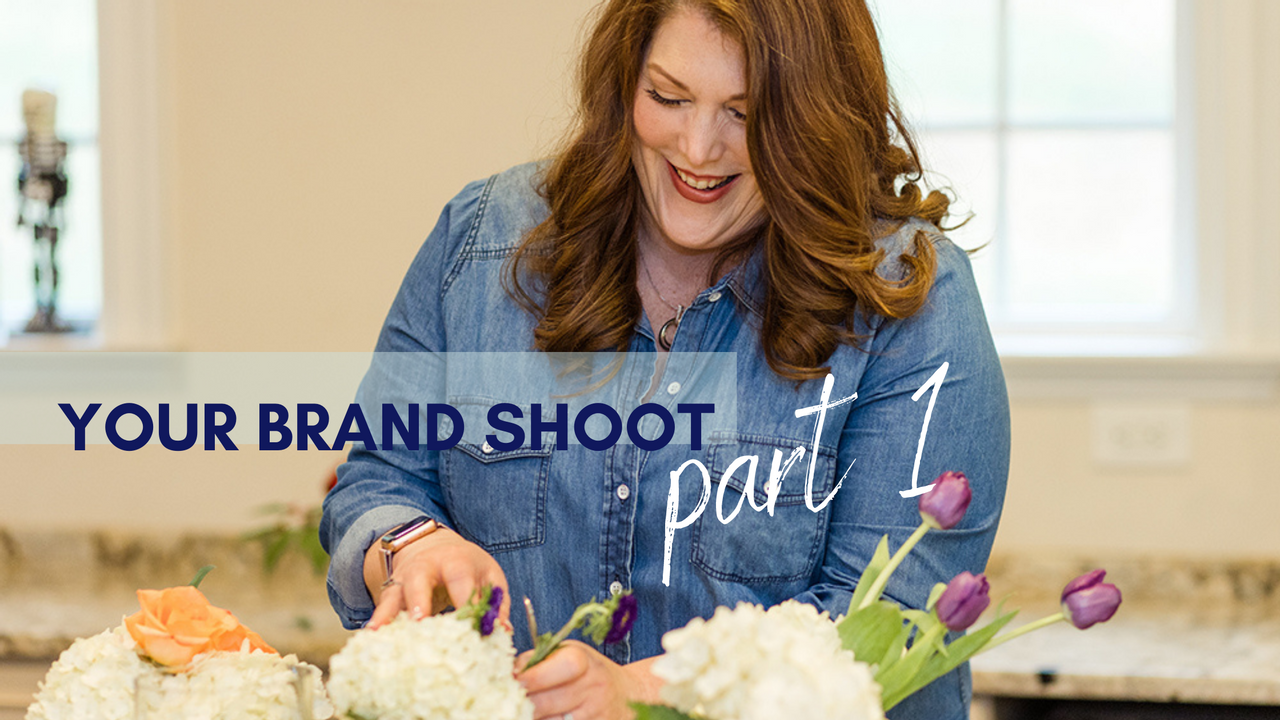 Brand Photo Shoot for your floral Business
