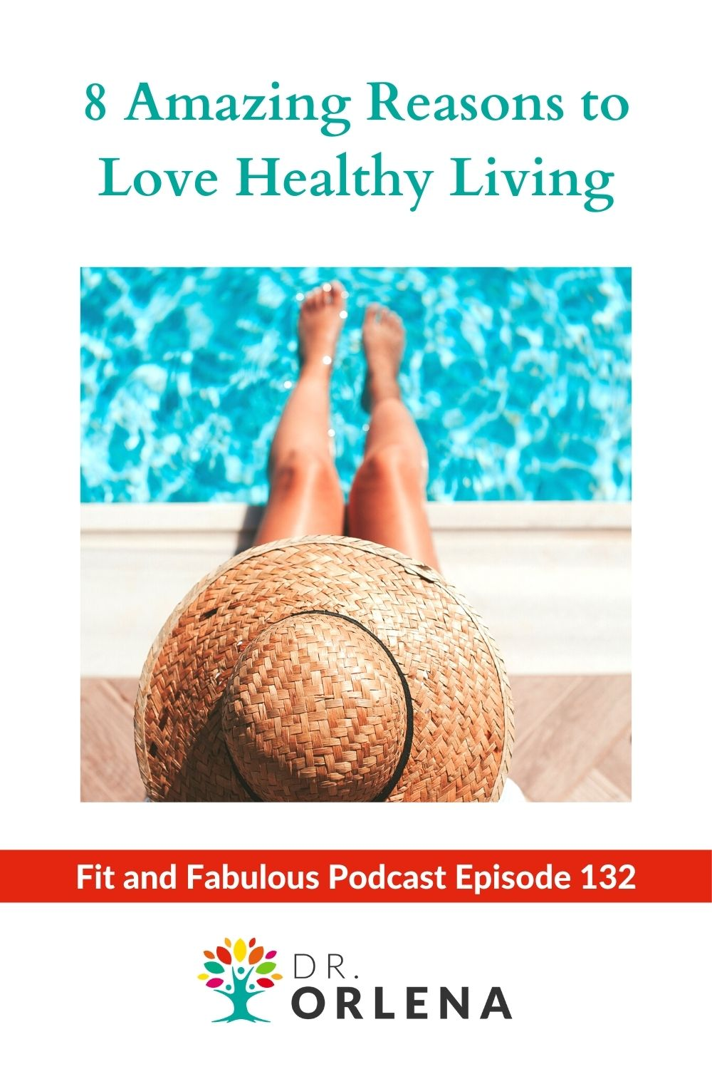 A woman relaxing by the pool #healthyliving #healthylife #wellness