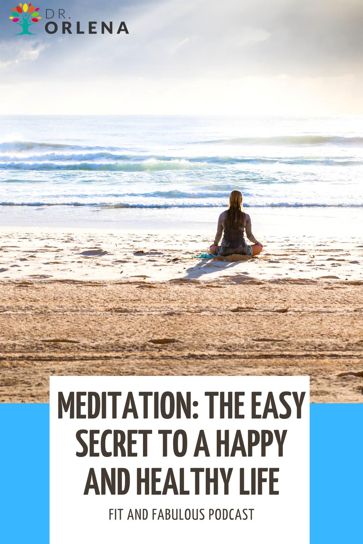 A woman meditating at the beach #meditation #wellness