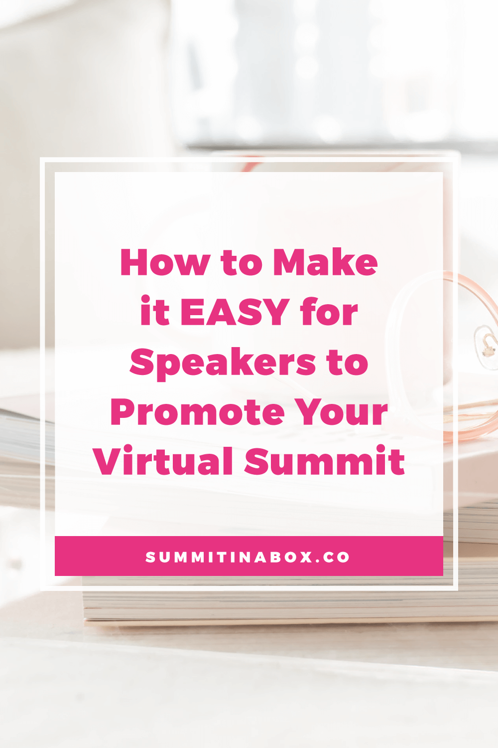 Here's the #1 reason virtual summit speakers don't promote, how to make promotion easy, and examples of the 3 summits I've gone hard with promotion for and why.