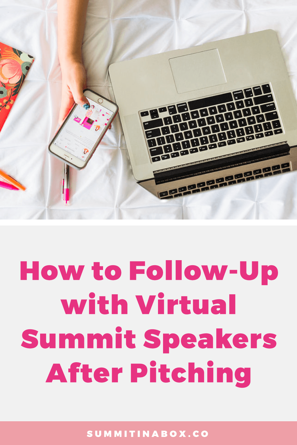 We'll cover whether you should follow-up with virtual summit speakers after pitching, when to do it, and I'll share my no-pressure follow-up strategies.