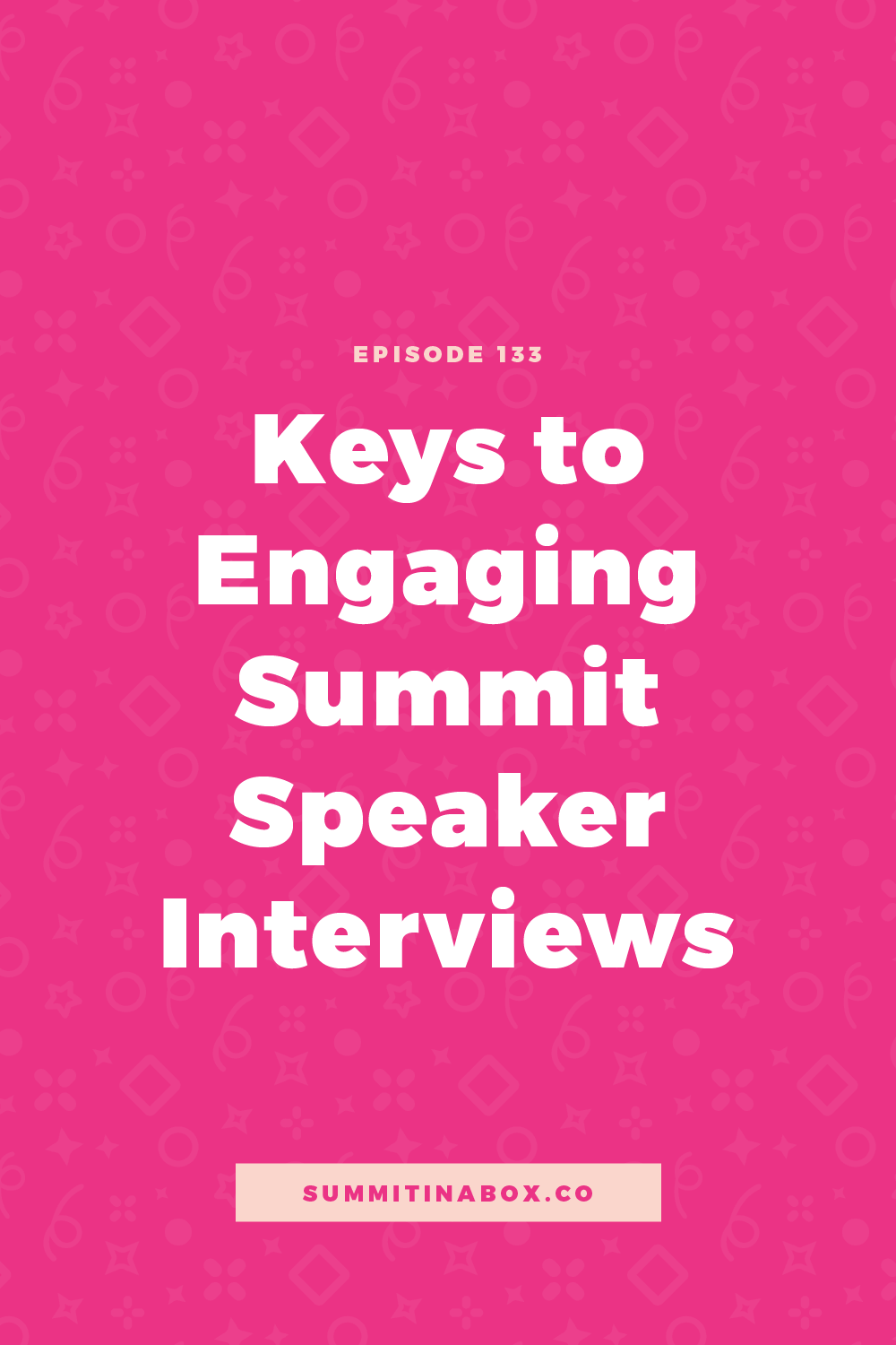 Say goodbye to boring summit speaker interviews. Let's cover top interview mistakes to avoid, how to conduct actionable interviews, and my interview outline.
