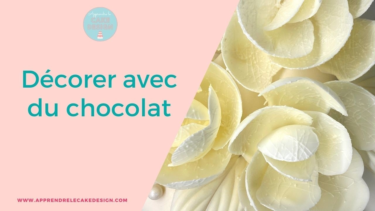 décorer avec du chocolat