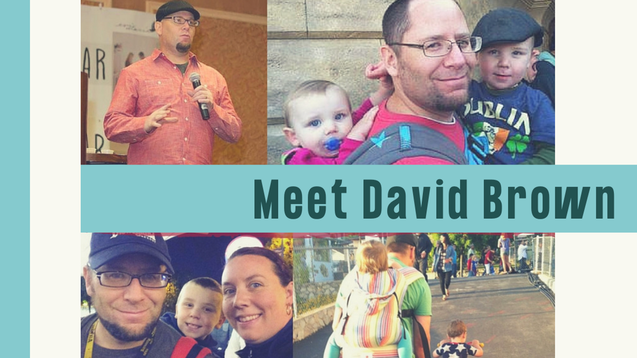 Graduate Highlight: Meet David Brown (Father's Day Edition)