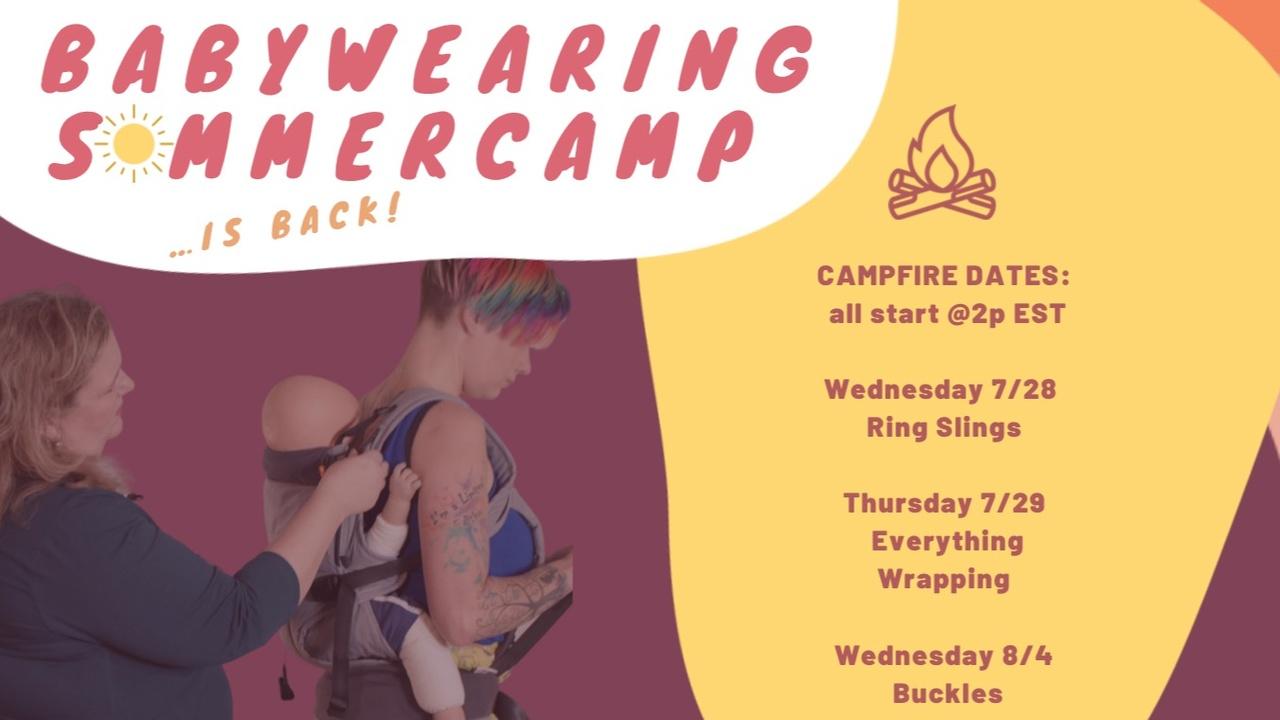 Babywearing Summer CAMP