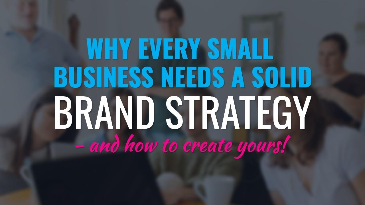 How to create your brand strategy