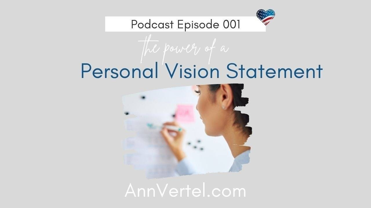 Power of a Personal Vision Statement