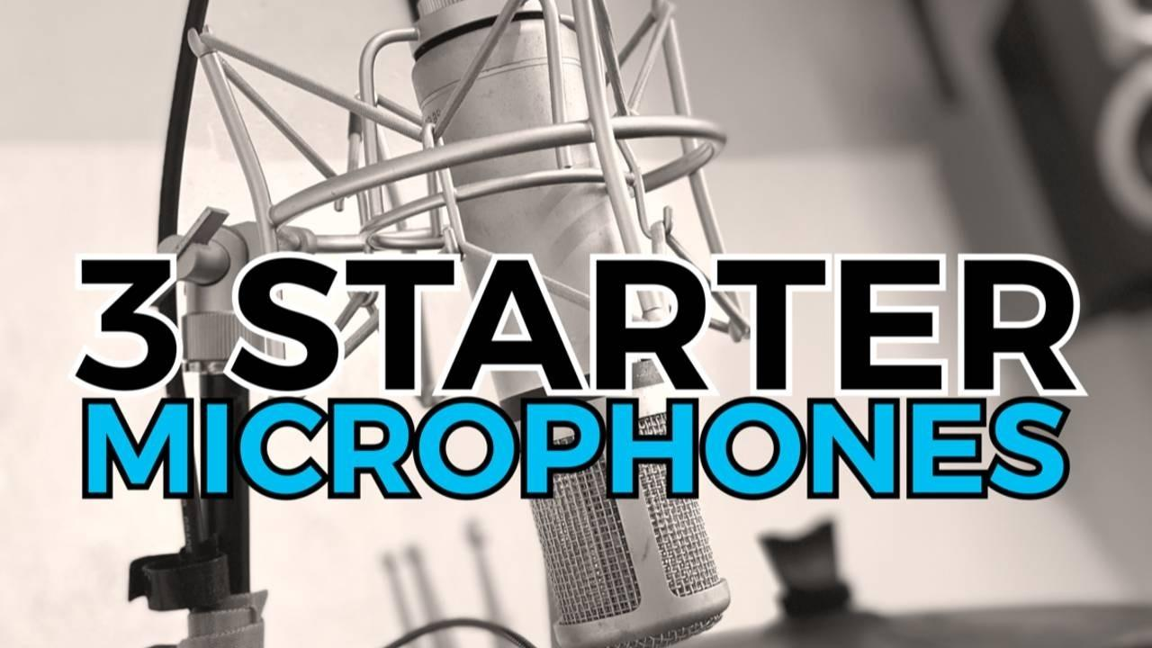 Microphones For Beginner Vocalists and Singers