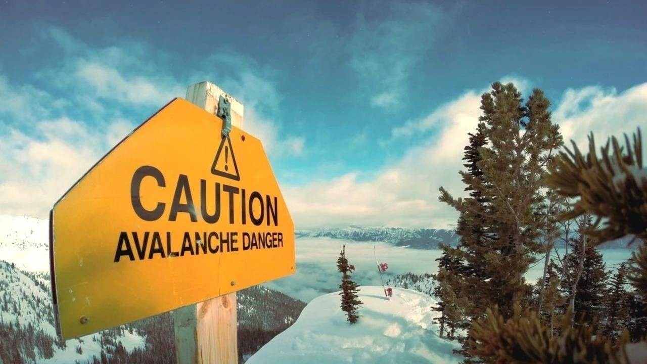 Sign warning chance of danger