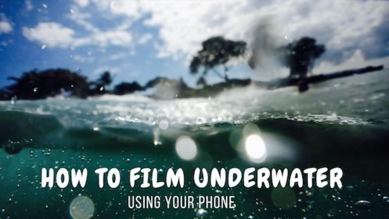 How to film underwater with your phone