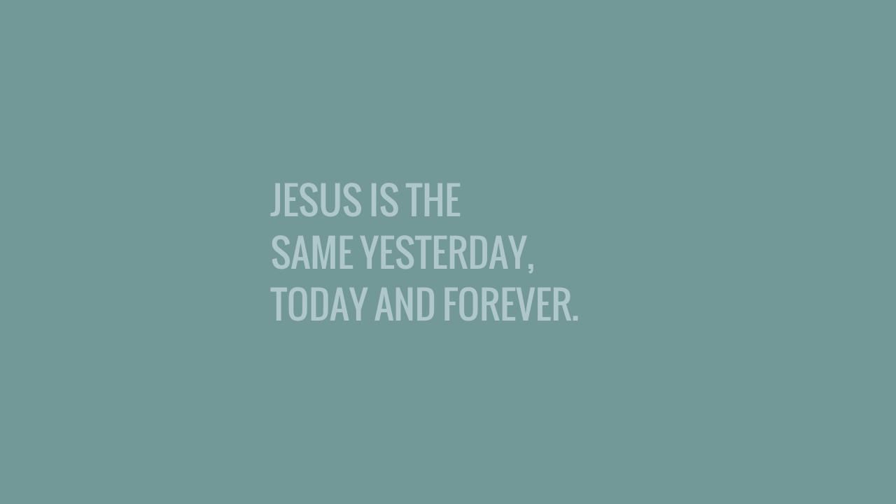 JESUS IS THE...