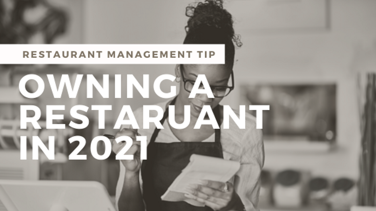 Owning a Restaurant in Today's Economy