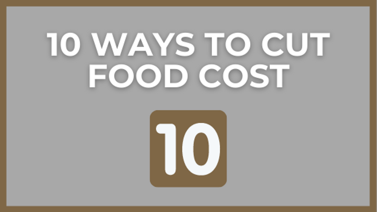 Restaurant Management Tips for Controlling Food Cost