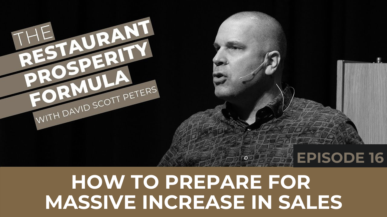 How to Prepare for Massive Increase in Restaurant Sales