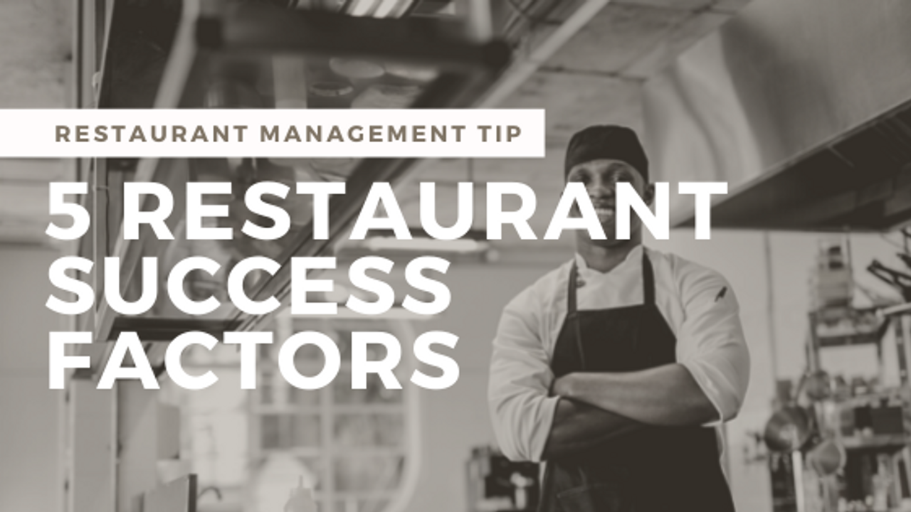 5 Things Successful Restaurant Owners Know