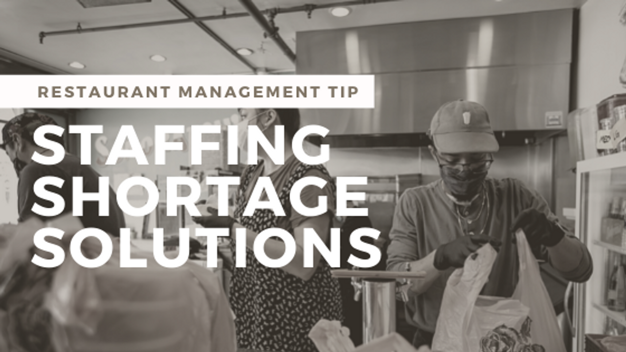 Ideas to Manage Staffing Shortage in Your Restaurant Business