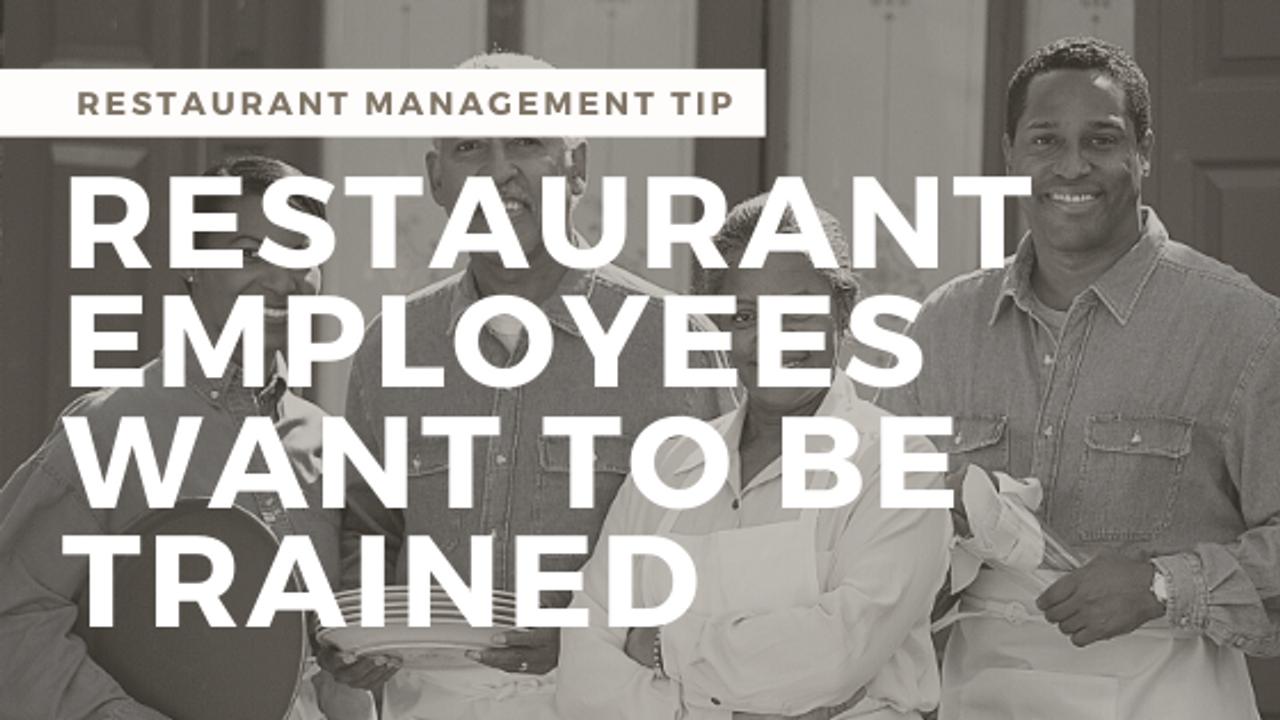 How Restaurant Training Improves Your Bottom Line