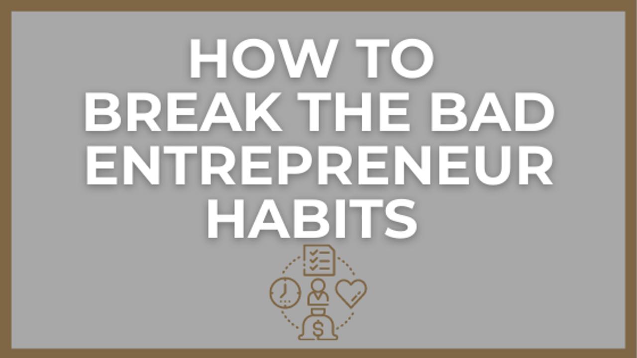 You Know You're An Entrepreneur When...