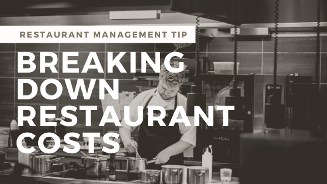 The Ideal Restaurant Cost Percentages