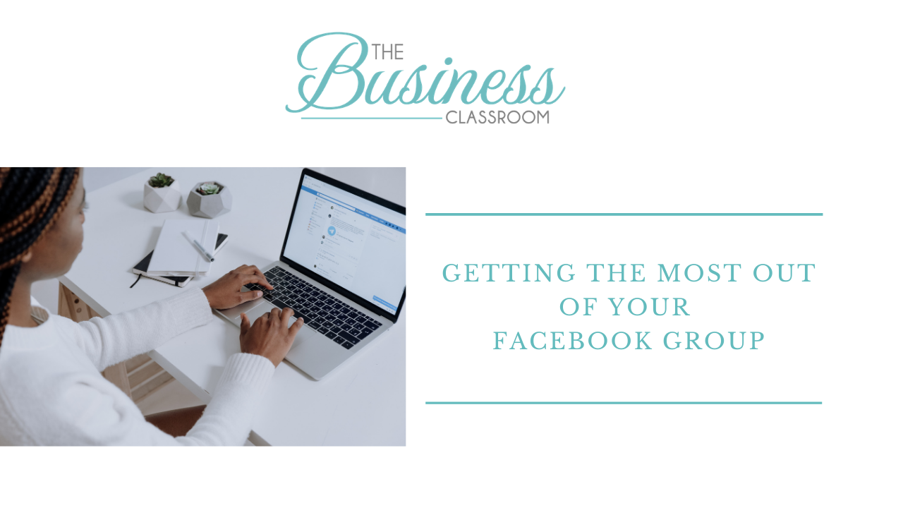 Getting the most out of your Facebook Group