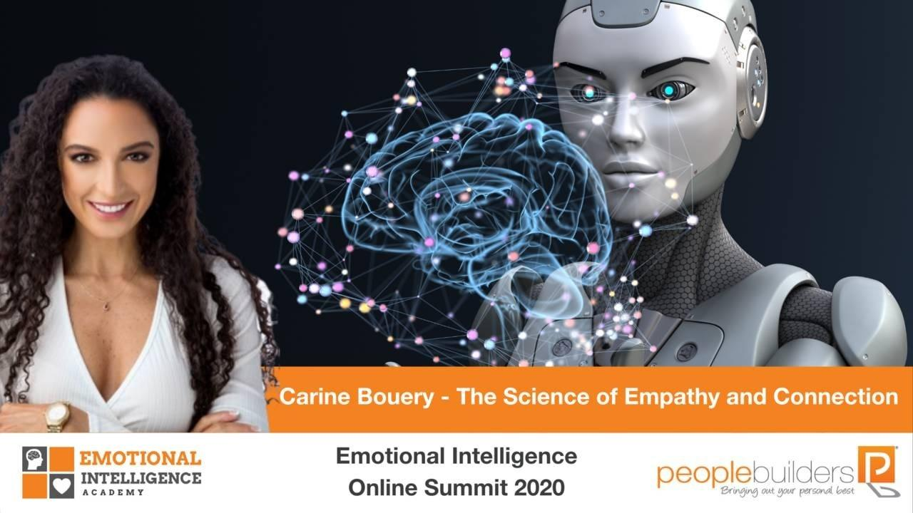 Emotional Intelligence Carine Bouery speaking at the Emotional Intelligence Online Summit in 2020.