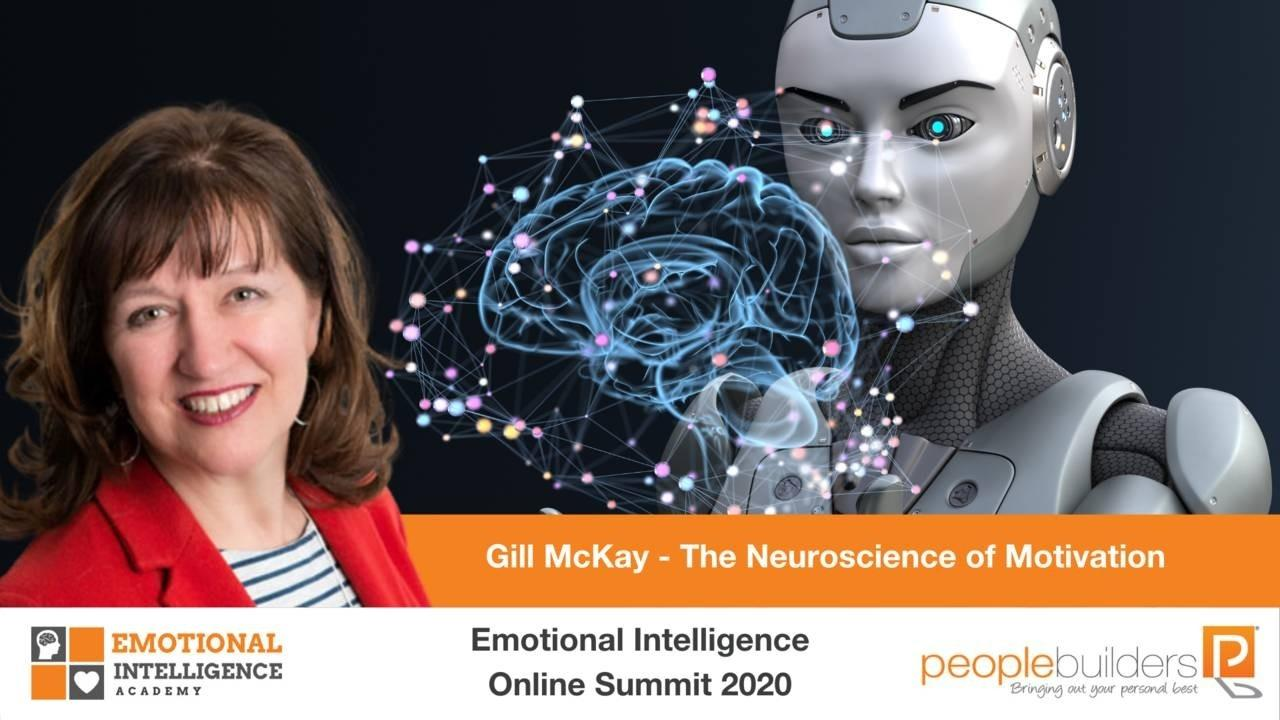 Gill McKay from the UK speaking at the Emotional Intelligence Online Summit