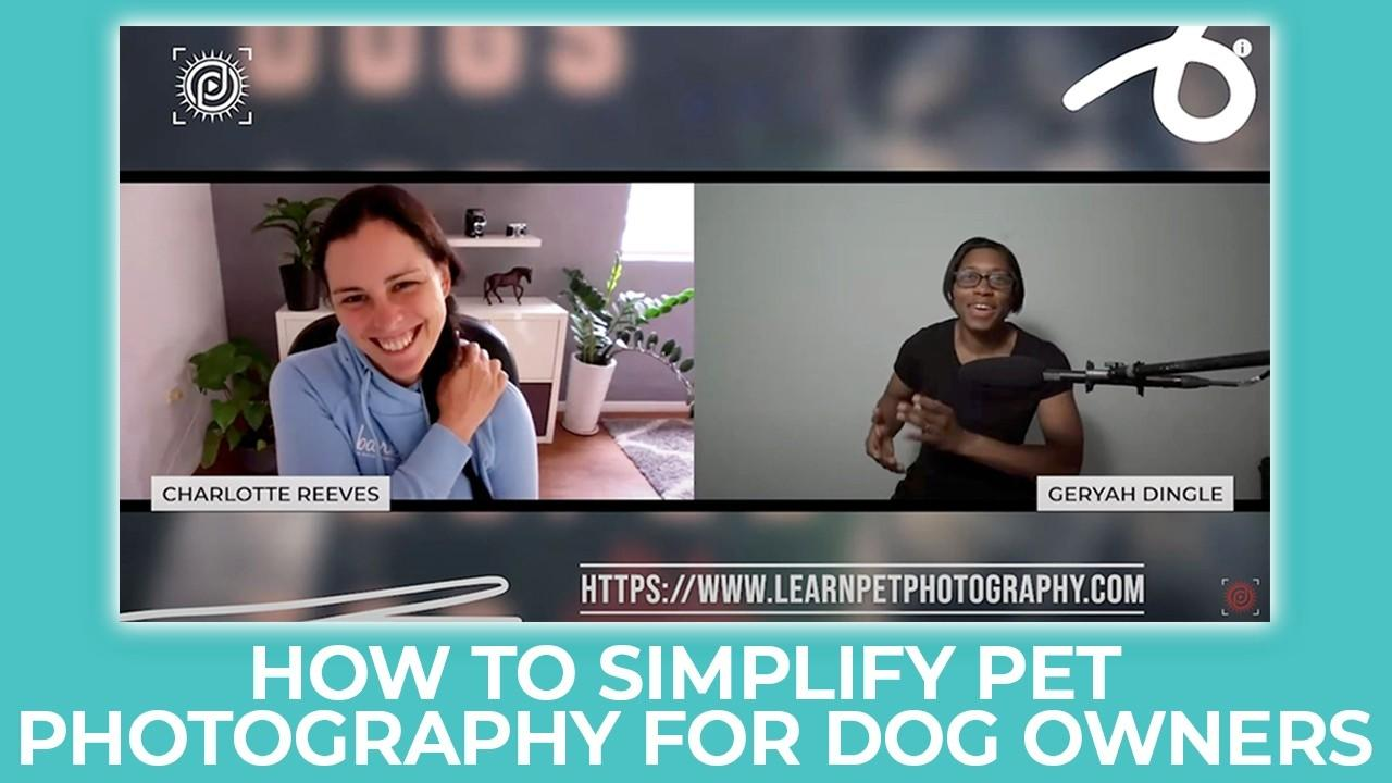 dog photography interview podcast
