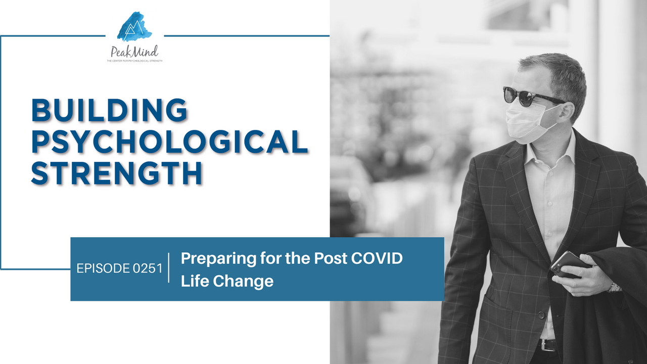 After COVID New normal psychological strength