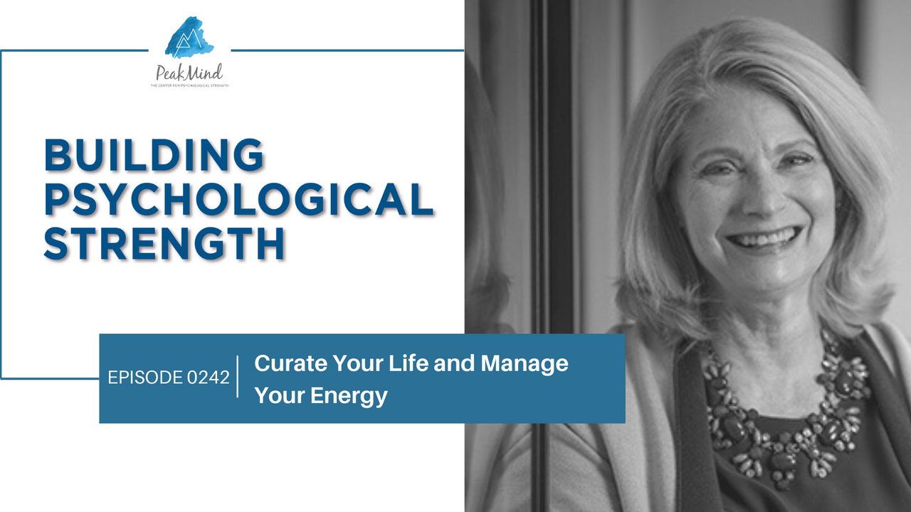 Gail Golden Curate Your Life Manage Your Energy