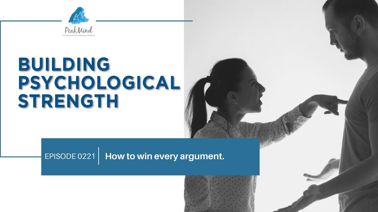 Psychological strength and life design argument conflict