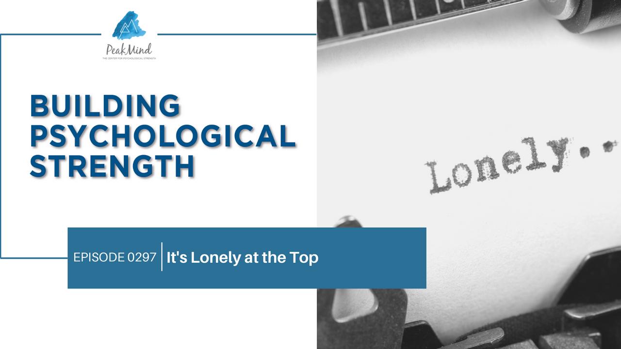 lonely entrepreneur