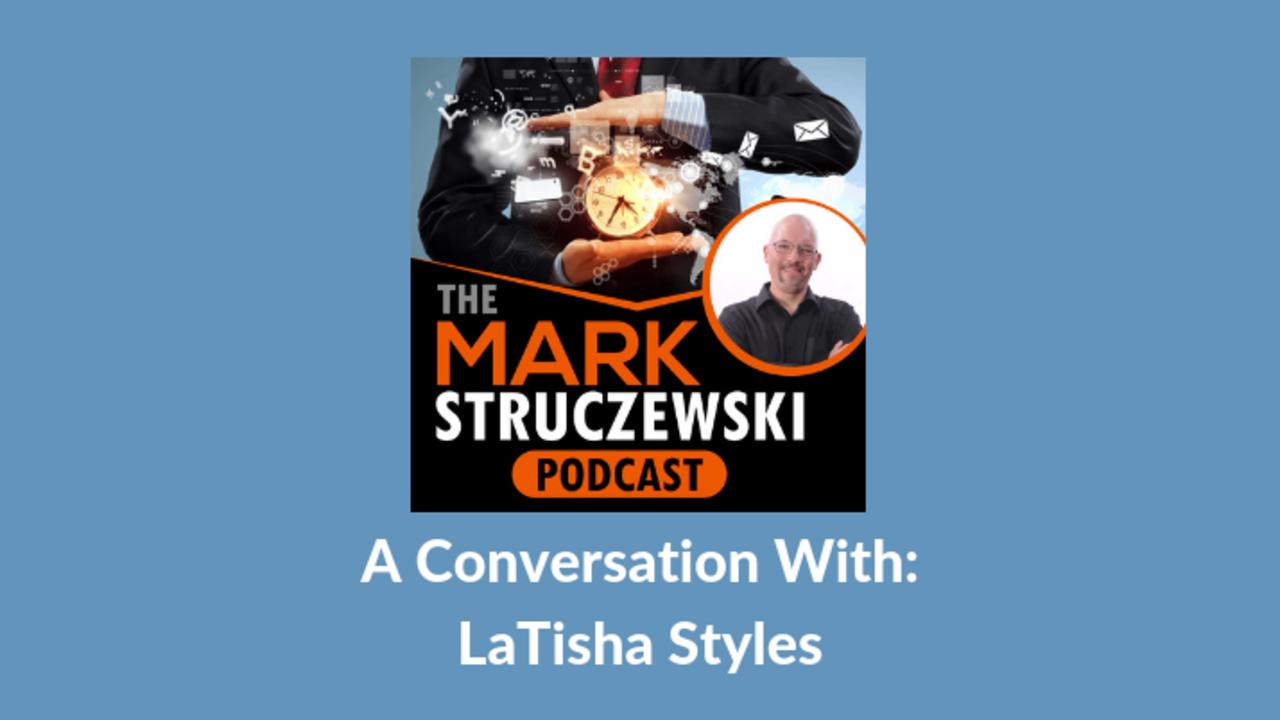 Mark Struczewski, LaTisha Styles