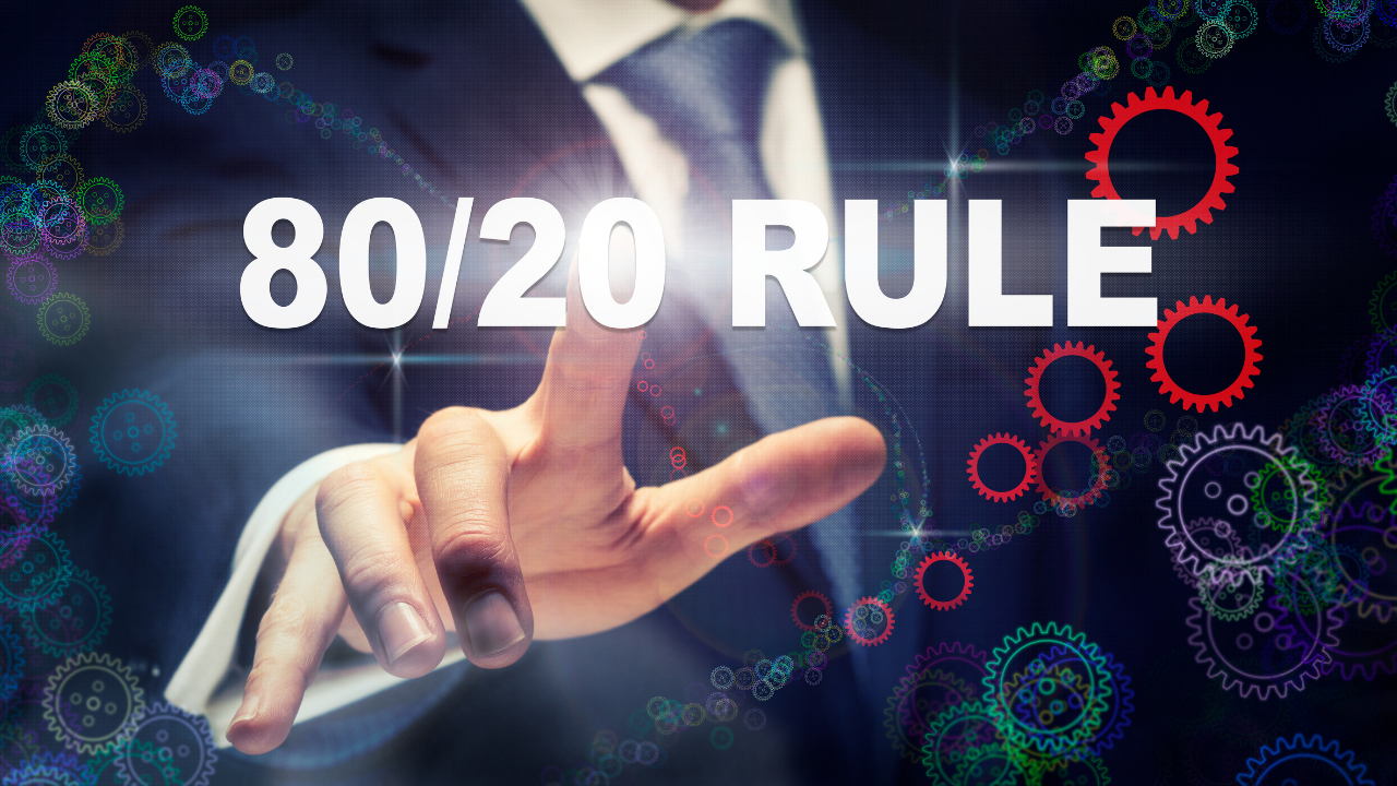 Pareto's Principle is Alive and Well
