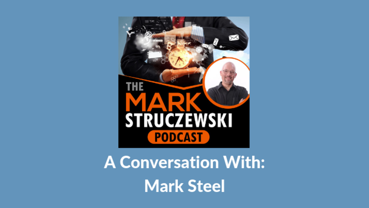Mark Struczewski, Mark Steel
