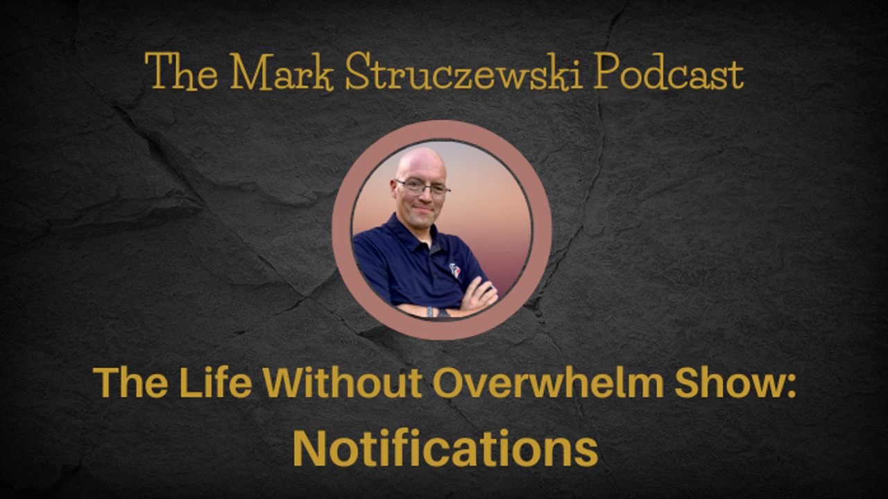 The Life Without Overwhelm Show: Notifications