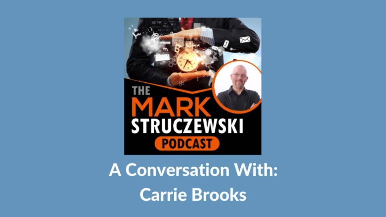 Mark Struczewski, Carrie Brooks
