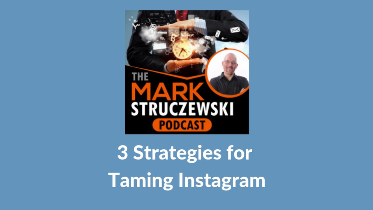 Mark Struczewski, Instagram