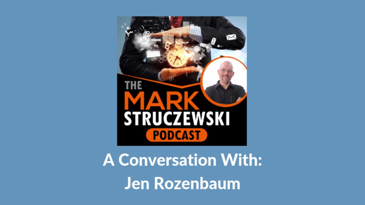 Mark Struczewski, Jen Rozenbaum