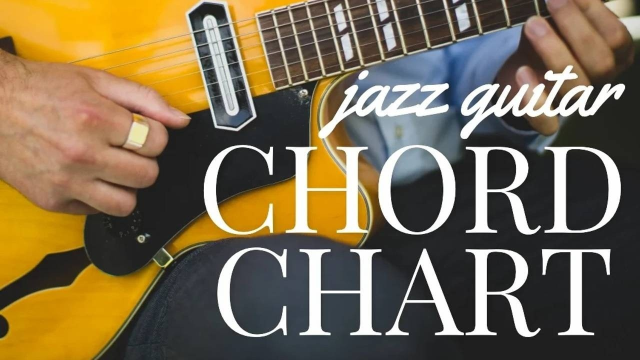 Definitive Jazz Guitar Chord Chart for Beginners
