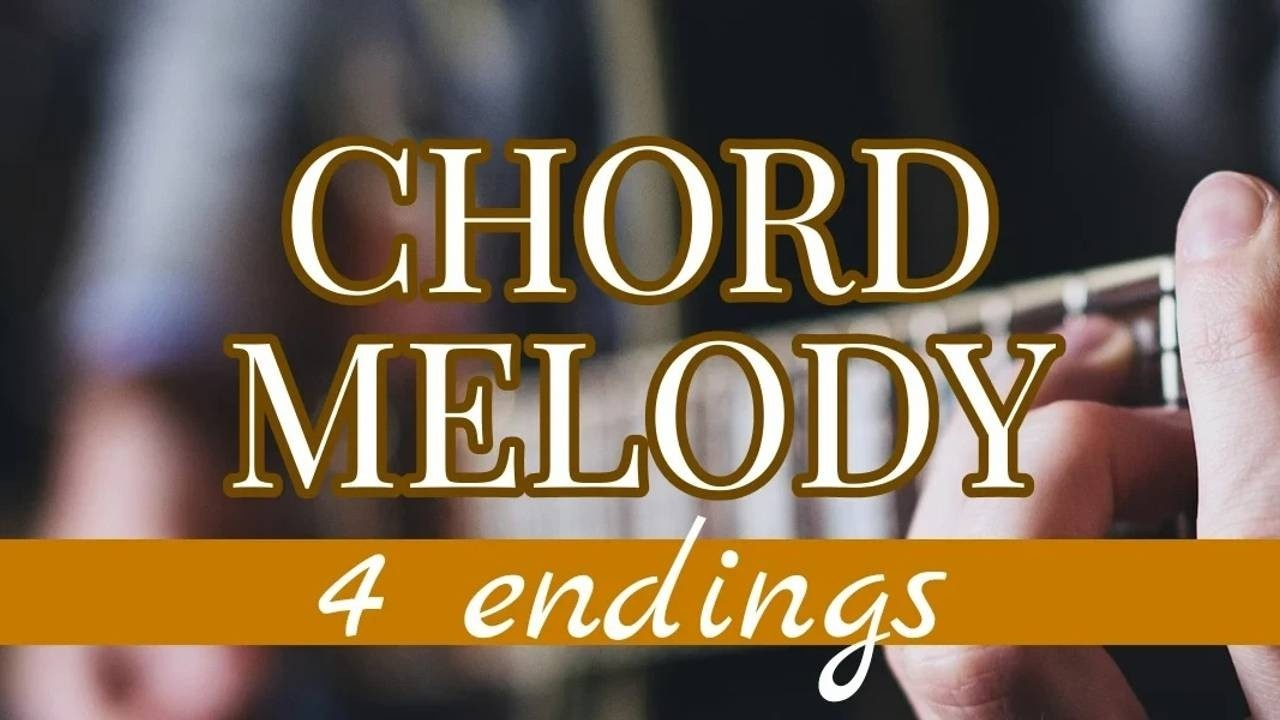 4 Ways to End A Chord Melody