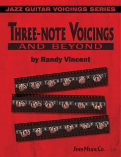 Three Note Voicings Jazz Guitar Randy Vincent