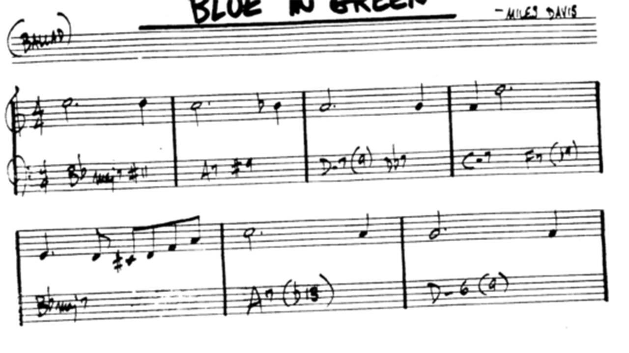 blue-in-green-chords