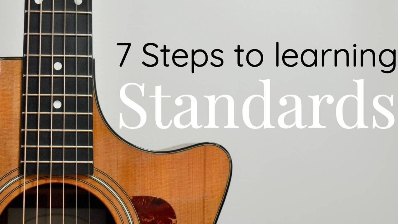 7-steps-to-learn-jazz-standards