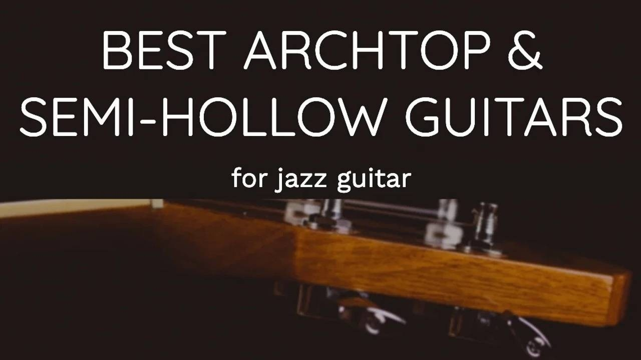 archtop hollow guitars