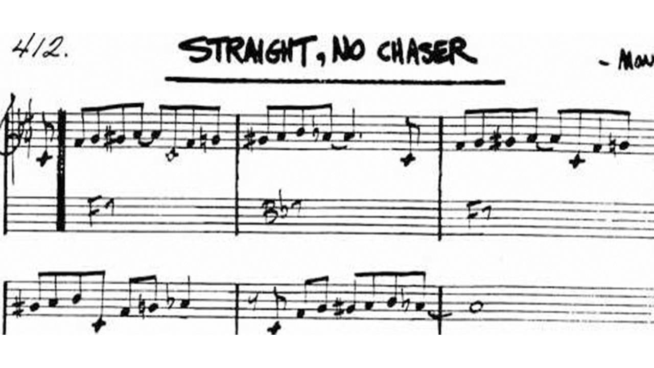 straight-no-chaser